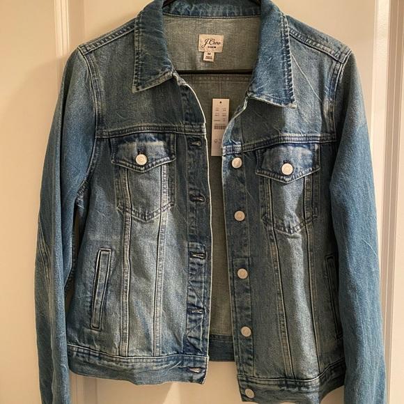 J Crew jean jacket (M) NWT